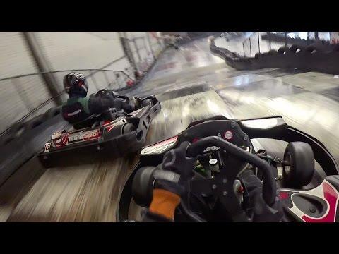 Karting at TeamSport Southampton - 24th February 2017 Highlights