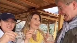 Tasting Greek spirits with Rick Steves