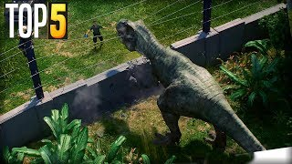 Top 5 Things I Want In Jurassic World: Evolution
