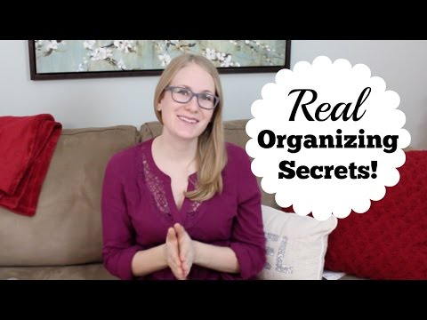 Home Organizing How-To... BEST CHEAP TIPS!