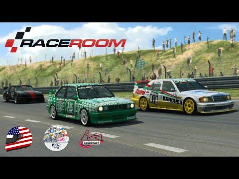 RaceRoom - BMW M3 Sport Evolution @ Zandvoort (Club) - ESR DTM 1992 League - Race 1/21 |