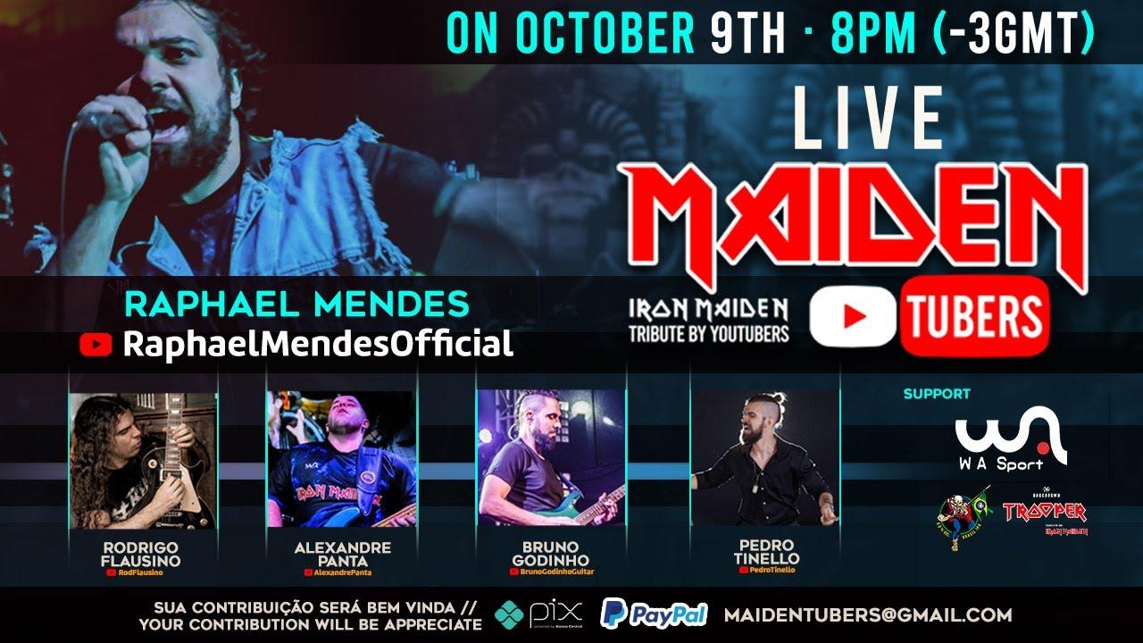 Обложка видеозаписи Live - Maiden Tubers