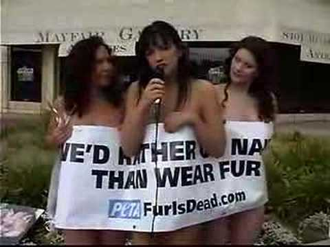 go naked wear fur