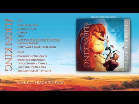 The Lion King Soundtrack - Deluxe Edition - Album Sampler