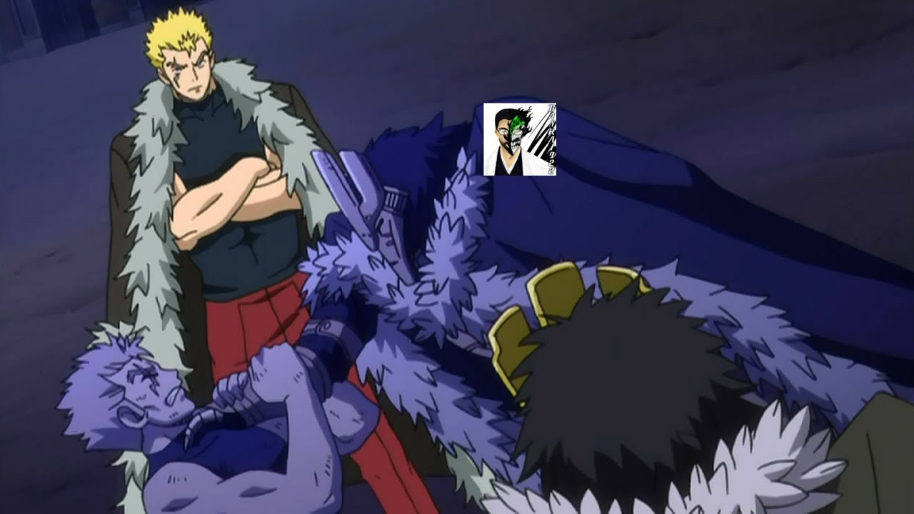 FAIRY TAIL EPISODE 168 REVIEW-LAXUS VS ALEXEI - YouTube