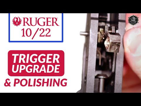 Ruger 10/22 Trigger Job w/ Polishing - Ruger 10/22 Disassembly and Cleaning Ruger 10/22  by M*CARBO