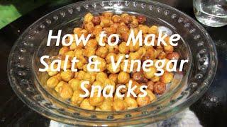 How to Make Salt & Vinegar Snacks (Vegan)