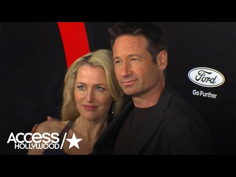 'X-Files' Romance Rumors: Did David Duchovny Ever Hit On Gillian Anderson? | Access Hollywood