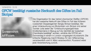 Die OPCW Untersuchung zu Skripal – Fake News auf allen Kanälen   Jens Berger