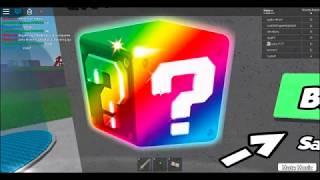 Testing lucky blocks (IN ROBLOX)