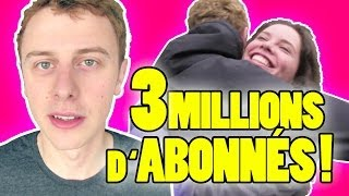 NORMAN - 3 MILLIONS D'ABONNÉS !