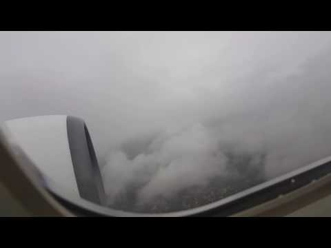 Go-Around at 50ft - Cape Town Airport - Heavy Rain - SAA A319 - 16 Sep 2016