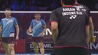 Finals (TV Court) - MD - M.Ahsan / H.Setiawan vs Lee Y.D. / Yoo Y.S. - 2013 Yonex Denmark Open