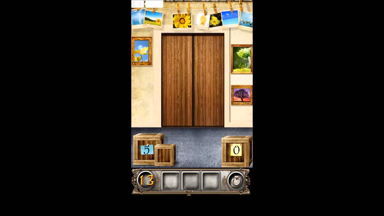 100 doors floors escape level 13 walkthrough youtube for Door 4 level 13