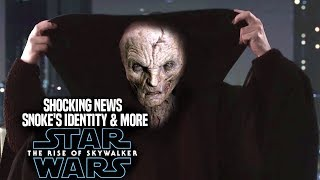 The Rise Of Skywalker Snoke's Identity! Shocking News Revealed (Star Wars Episode 9)