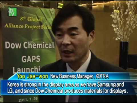 Dow Chemical to collaborate with Korean companies