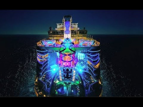 Symphony Of The Seas Walking Tour On World's Largest Cruise Ship From Royal Caribbean 2018