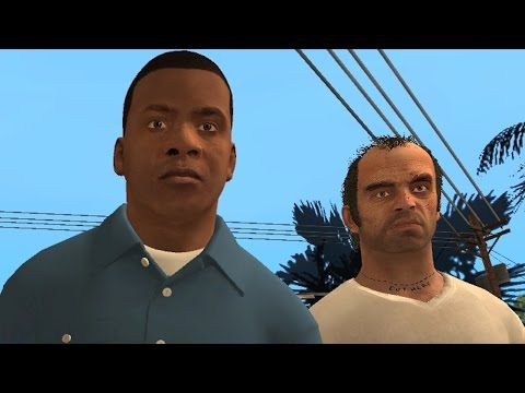 GTA V meets San Andreas
