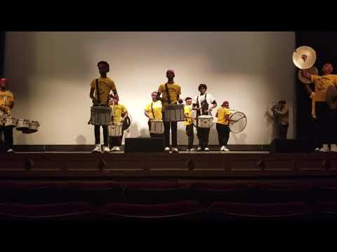Wenonah High School Drumline. October 26, 2018 Drumline Competition Bham, AL