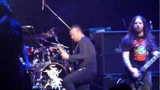 Sepultura - Just One Fix (feat. Roy Z) @ Yost Theater, Santa Ana, CA, USA  4-10-2012
