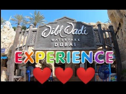WILD WADI WATERPARK DUBAI EXPERIENCE