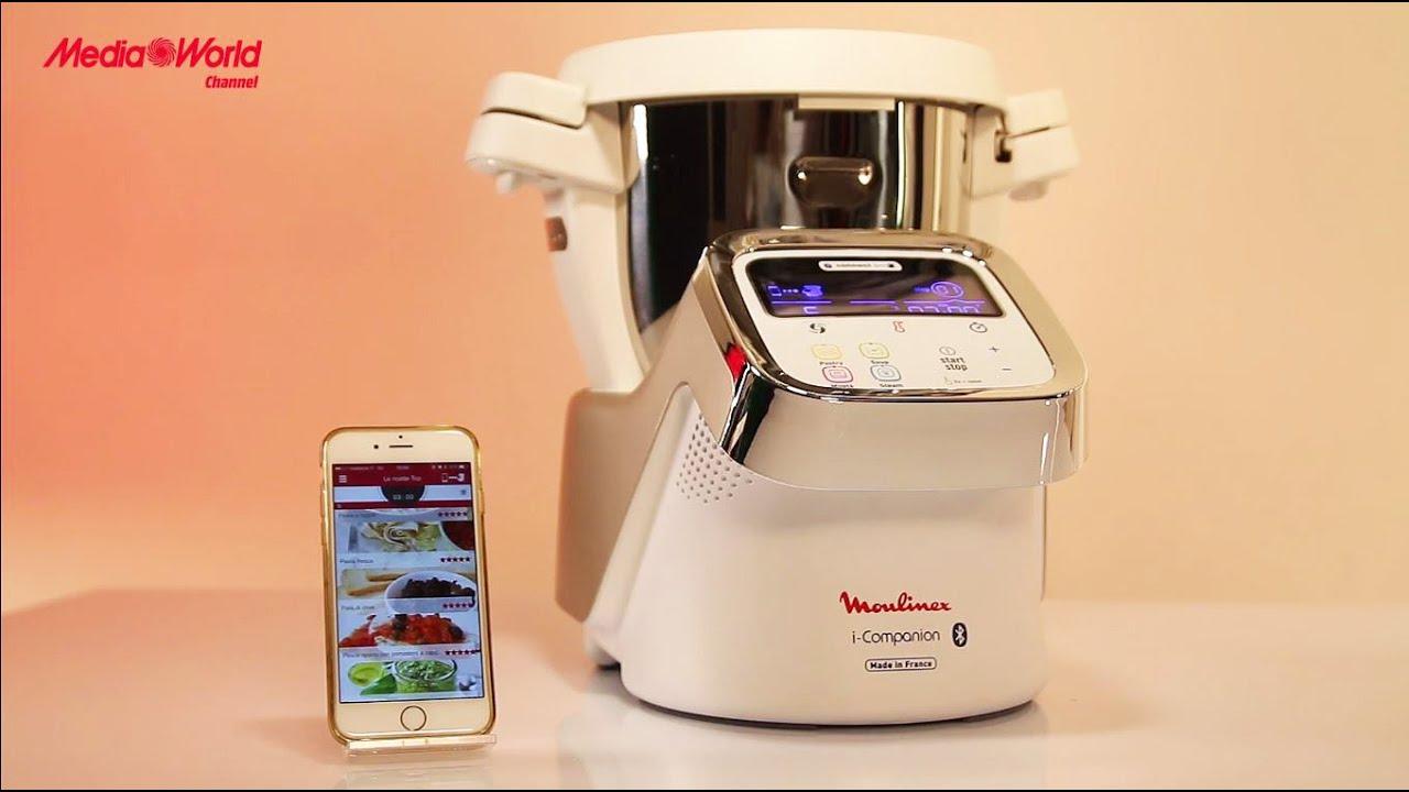Moulinex i companion il robot da cucina connesso alla app ita youtube - Prezzo robot da cucina moulinex ...