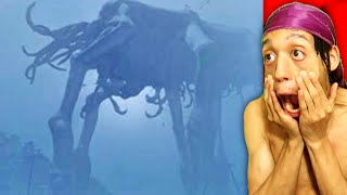 5 giant mysterious creatures caught on camera reaction!