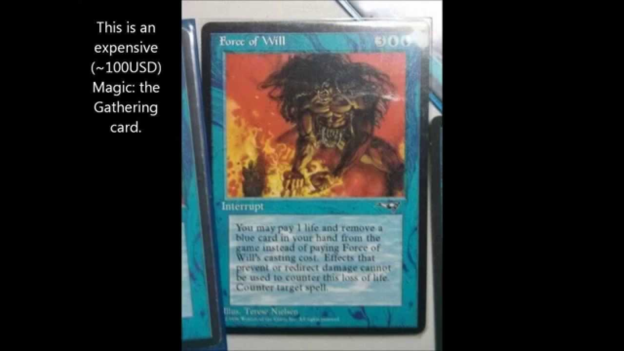 how to tell a fake magic card