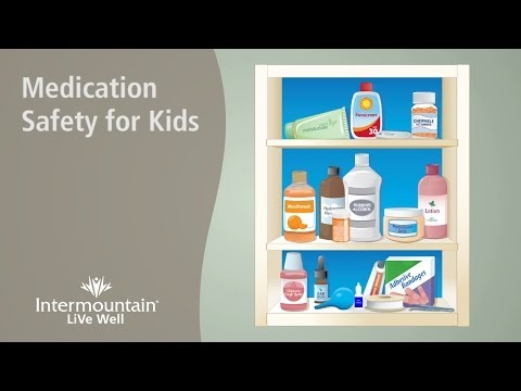 Medication Safety for Kids