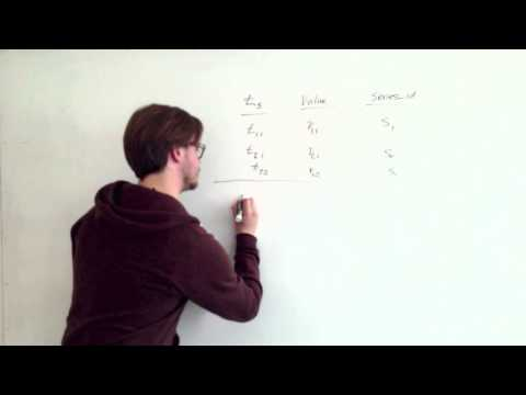 Optimizing A Relational Database For Time Series Data - TempoDB Whiteboard Session