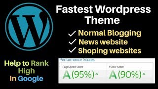 Fastest Wordpress Theme for news and normal websites in hindi