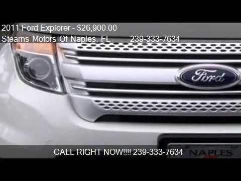 2011 ford explorer xlt for sale in naples fl 34104 for Stearns motors naples florida