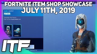 Gambar cover Fortnite Item Shop *NEW* FOCUS SET! [July 11th, 2019] (Fortnite Battle Royale)