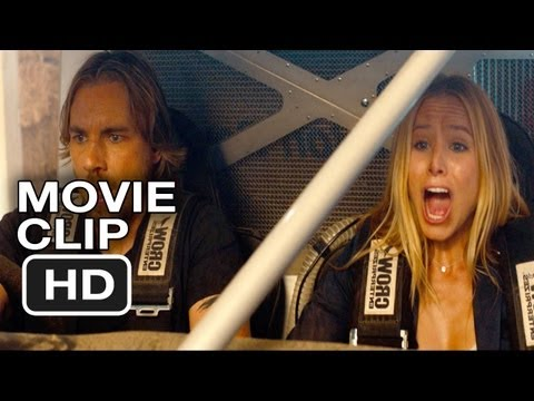 Hit and Run Movie CLIP - Barn Break Out (2012) Bradley Cooper, Kristen Bell Movie HD