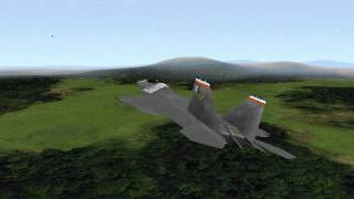 F-22 Lightning II - Campaign 1 - Mission 1 - Snake Eyes