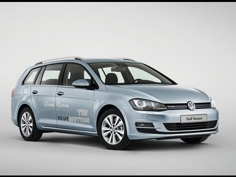 All New 2014 Volkswagen Golf Variant Review Youtube
