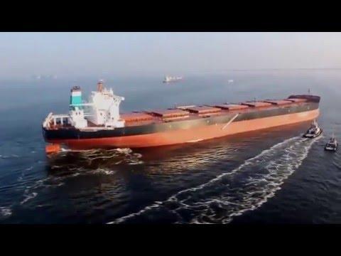 Мегамашины. Самое большое грузовое судно в мире