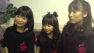 青SHUN学園 初等部ユニット 左から。もかもか、ここ、いまりん ぬくもり...