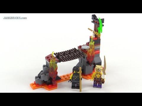 LEGO Ninjago Lava Falls review! set 70753