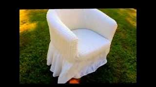 Чехлы на кресло BULSAN (Турция)(На этом видео Вы можете посмотреть процесс надевания чехла на резинке турецкой фирмы BULSAN на кресло. Универс..., 2015-11-04T08:31:36.000Z)