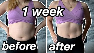 TRYING TO GET ABS IN 1 WEEK | I followed Pamela Reif's Six Pack Ab Workout & my abs are CRYING