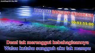Riza Umami ANTARA TEMAN DAN KASIH /HD Karaoke Audio Spectrum skin
