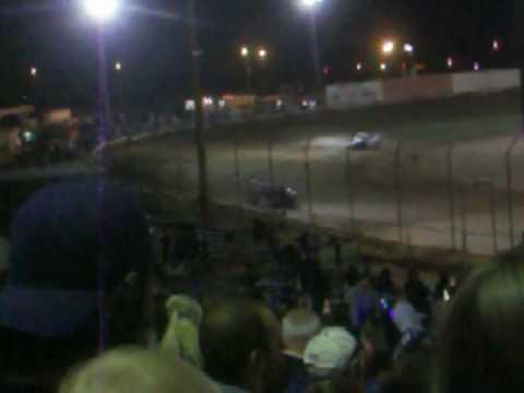 Aaron Englert 4/17/10 Victorville Auto Raceway Ministock Main Event Win
