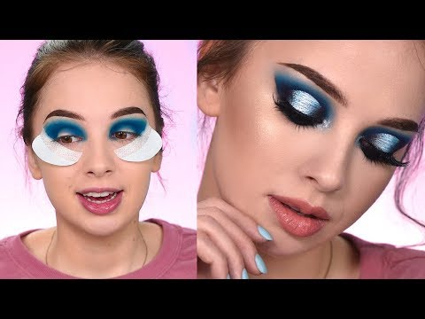 Dramatic Blue Eye Makeup Tutorial