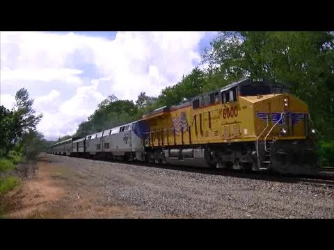 Thumbnail: Union Pacific 8000 Leads the California Zephyr