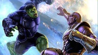 Finalmente Revelado como o Hulk recuperá seus poderes e massacra Thanos em Vingadores 4 End Game!!!