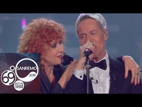 Sanremo 2019 - Fiorella Mannoia e Claudio Baglioni cantano 'Quello che le donne non dicono'