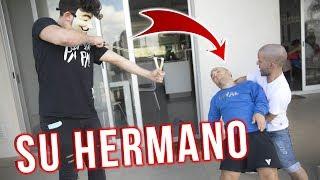 SU HERMANO VINO Y ATACO A NATHAN *increible reaccion*