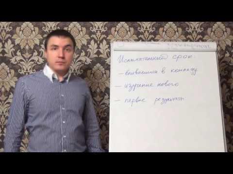 Евгений Грин — Испытательный срок на работе
