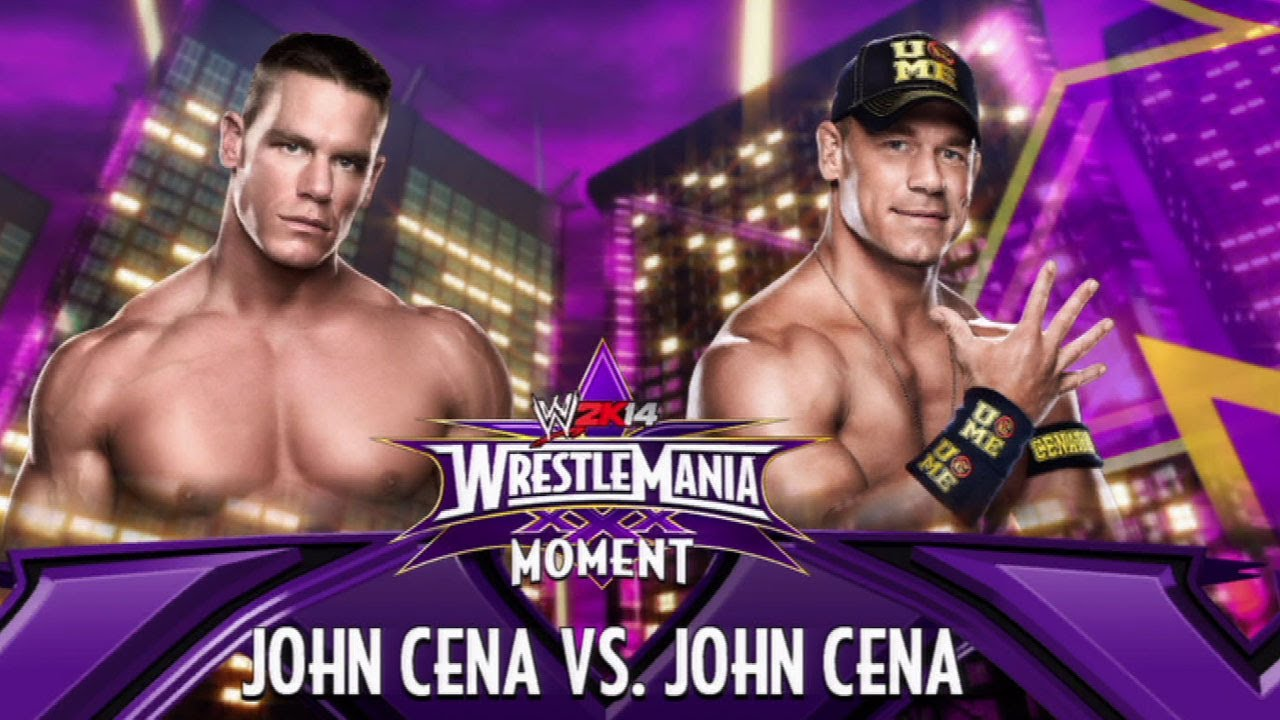 "the past meets the present in ""wwe 2k14"": john cena vs. john cena"